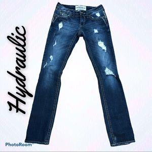 HYDRAULIC Gramercy skinny jeans. Size 2